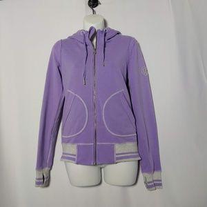 Lululemon Lavender Jacket Size 6 Hoodie Zip Up
